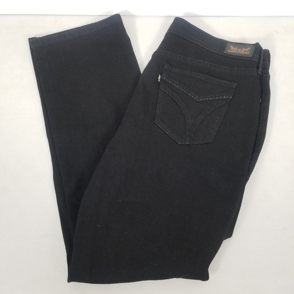 Levi's Denim - Levi's 516 Straight Women Black Denim Size  32x32